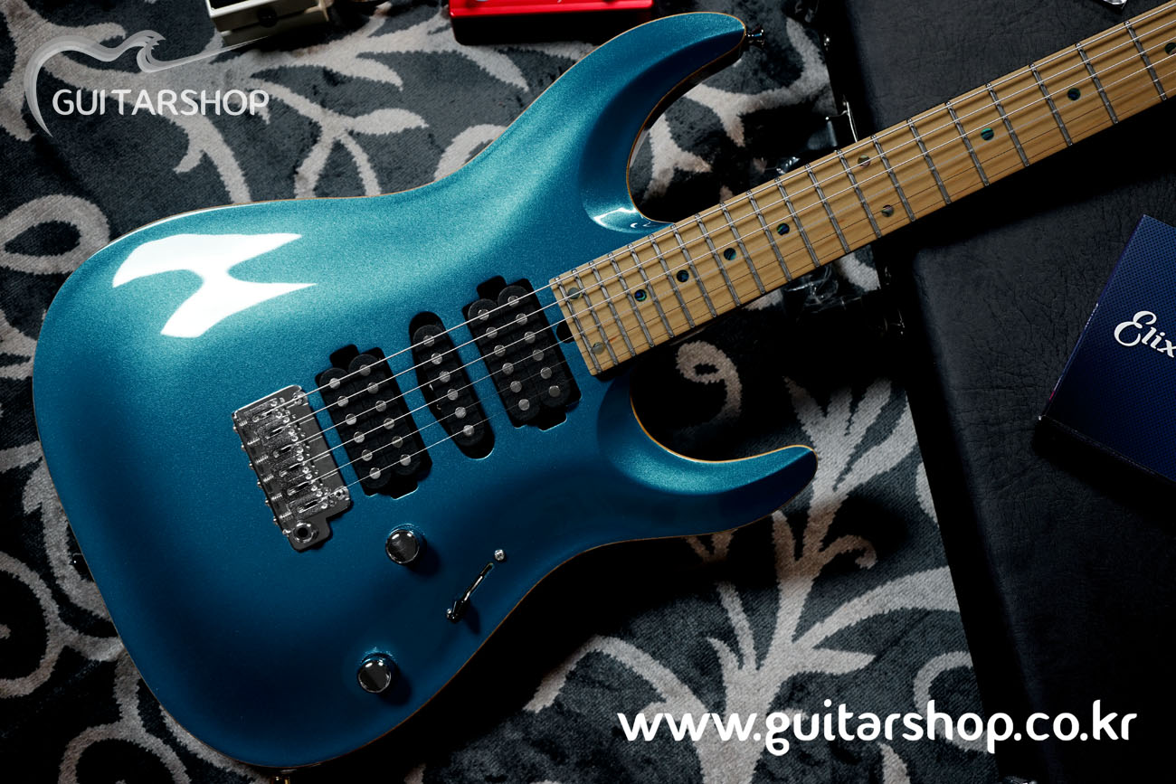 재입고 T's GUITAR DST-Pro24,Carved,Ash Model (Lake Placid Blue)